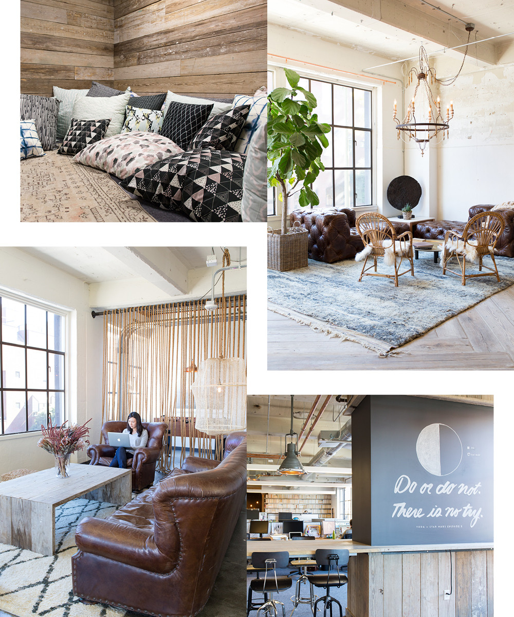 Minted's Inspiring Office Space