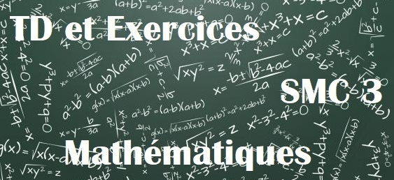 TD et Exercices corrigés Mathematique chimie SMC S3 PDF
