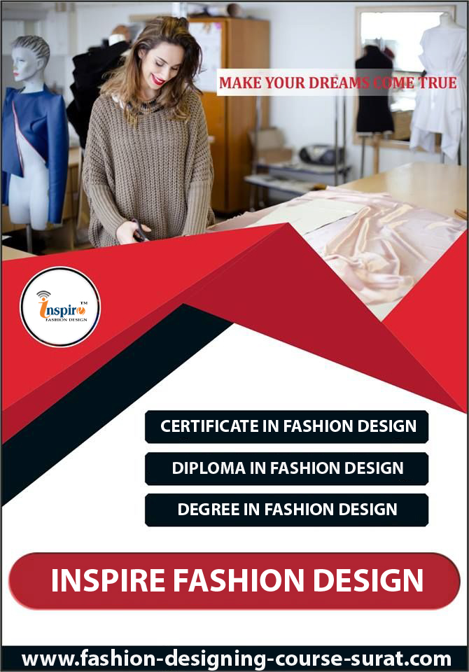 Inspire Fashion Designing Course Surat