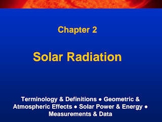 Learn Solar PV Systems: 2-Solar Radiation