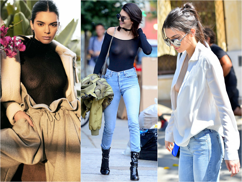 50 Times Celebs Went Braless - Stars who go braless 15