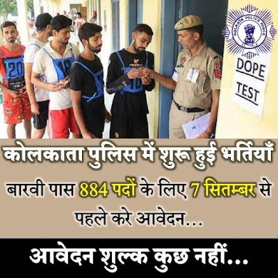 Kolkata Police Recruitment