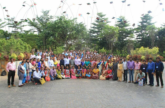 "Group Photograph of the LDP program on '' Digital Preservation and Utilization of Intellectual Resources"" at Central Library KIIT University, Bhubaneswar"