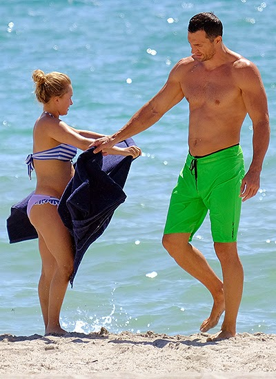 Hayden Panettiere and Wladimir Klitschko in Miami