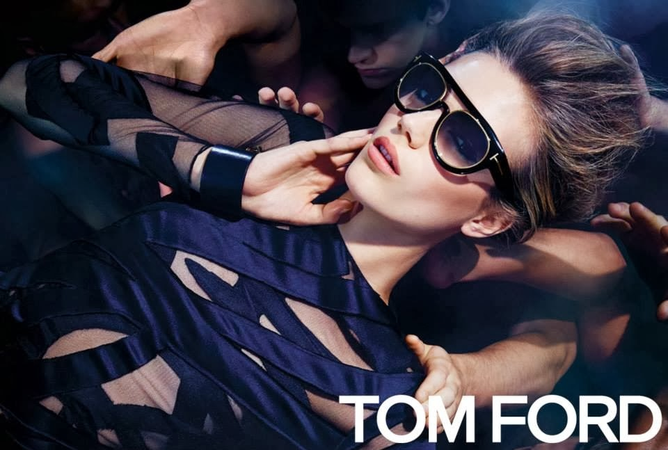Tom Ford Spring Summer 2014 Campaign Featuring Esther Heesch