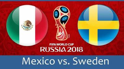 Tips Taruhan Bola Piala Dunia Meksiko vs Swedia