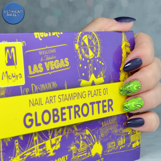 """Color Club """"Nail-robi"""" swatch"""