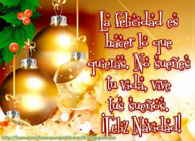 Frases De Navidad: La Felicidad Es Hacer Lo Que Quieras