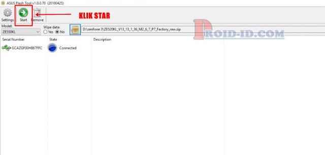 Star Asus Flashtool