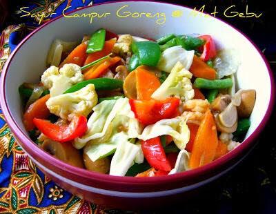 Sayur Campur Goreng