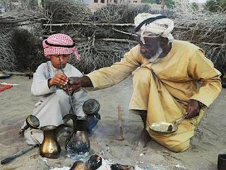 Arabai verda kavą