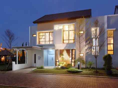 KUMPULAN GAMBAR DESAIN RUMAH TINGKAT MINIMALIS TERBARU Foto Rumah Minimalis 2 Lantai