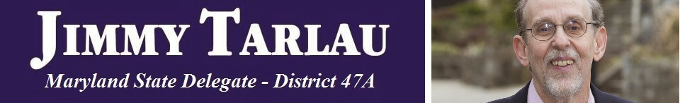 Jimmy Tarlau, Maryland State Delegate, District 47A
