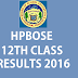 Hpbose result for standard 12th will be announced today