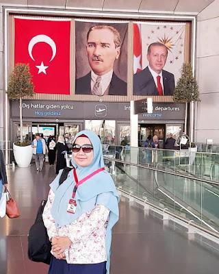 masjid nabawi termegah dengan payung cantik nan memesona sepanjang sejarah madinah al munawwarah al hijaz nurul sufitri mom lifestyle blogger traveling umroh turki bandara internasional