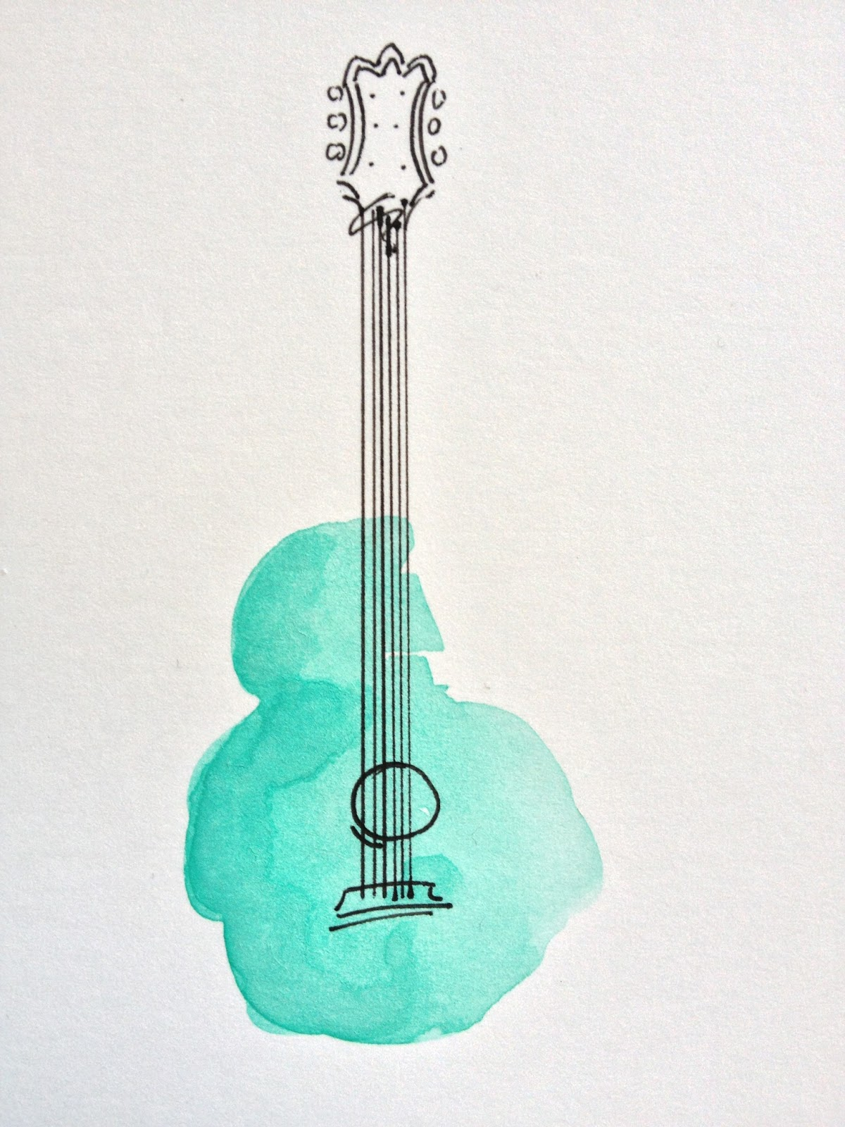 guitar drawing easy step by step how to draw cats easy how to draw