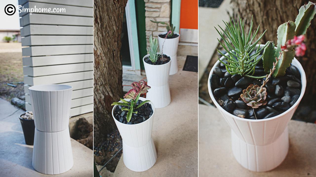 easy planter ideas via simphome.com