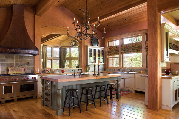 Hogares frescos naturaleza acogedora y atractiva retiro - Pictures of ranch style homes interior ...