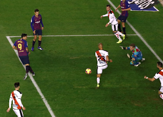 برشلونة انتصارات غير عادية في الدوري الاسباني