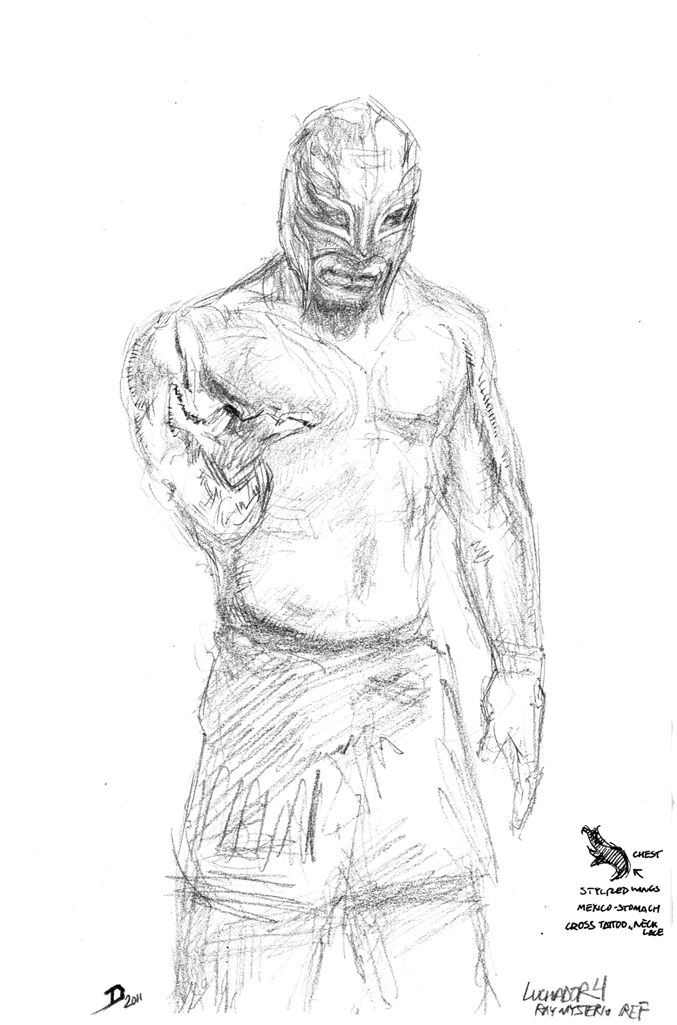 Delton Demarest Arts: Luchador Google Search Drawing Exercises