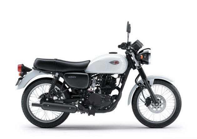 Kawasaki Released W175, Retro Motorcycle that uses