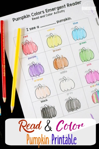 FREE Color Names Printable Activity