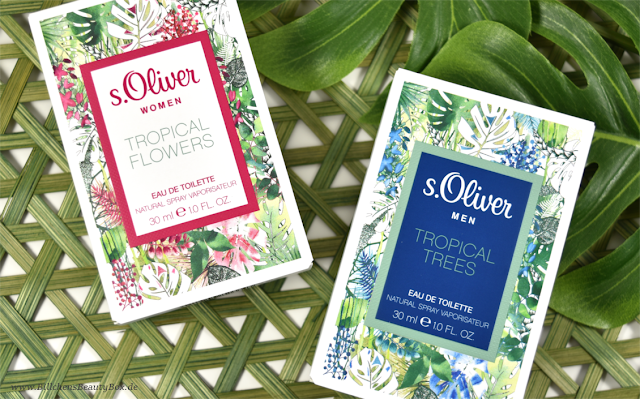 s.Oliver - Tropical Flowers & Tropical Trees
