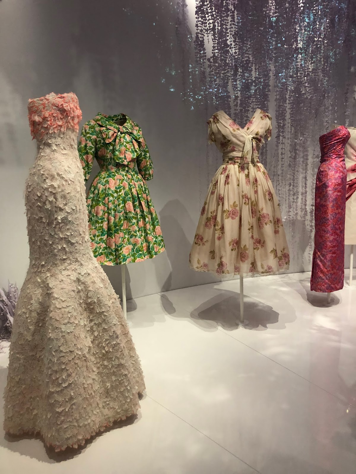 christian dior exhibition v and a wisteria