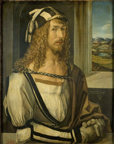 Self-portrait by Albrecht Durer, Prado Museum Madrid