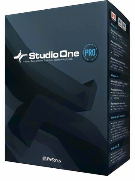 PreSonus Studio One Pro 2.6 Free Download - Free Software Download | Crack Software | Portable | Full Version Software