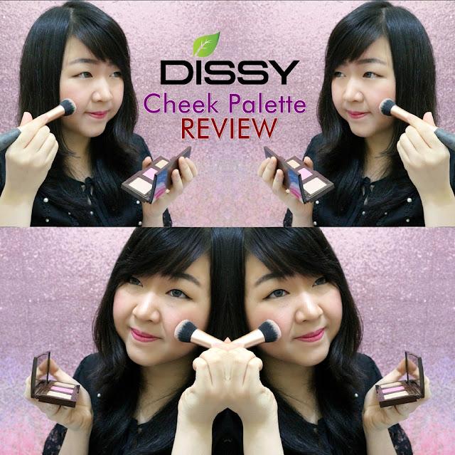 DISSY Cheek Palette Review | Mei's Unique Blog