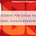 Videos, ¡videos por todas partes! + Un triste aviso / Video, videos everywhere! + Sad news
