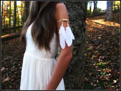 Feather Armband