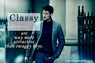 Classy Boys Are Way more Attractive Than Swaggy Boys