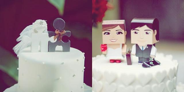 topo de bolo criativo para casamento