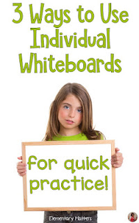 Seven Steps to a Happy Last Day of School-Part 4: Keep out a few whiteboards, markers, and erasers.