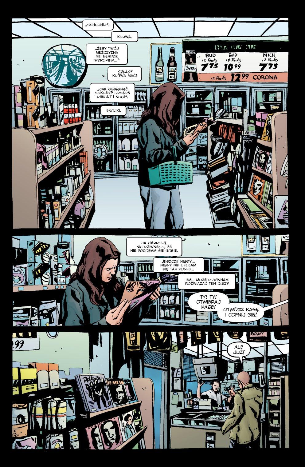 Jessica Jones Alias: tom 3 przykładowa strona