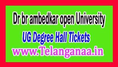 BRAOU UG Degree Hall Tickets