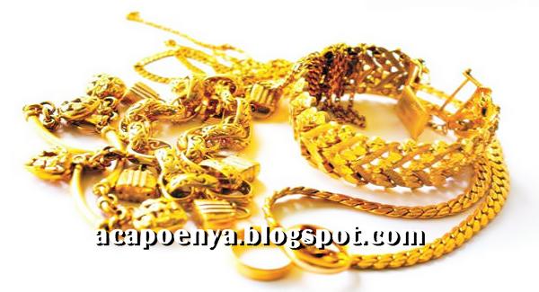 Pria Di Larang Memakai Perhiasan Emas