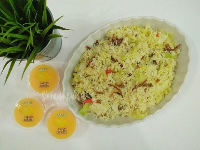 Resepi Nasi Goreng Ikan Bilis