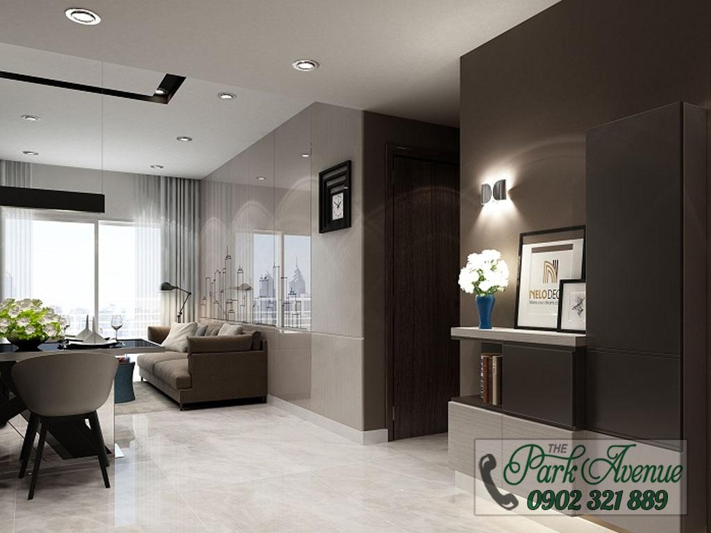 Chủ đâu tư mở bán 60 căn hộ The Park Avenue hot nhất mặt tiền đường 3/2 - nhà mẫu 2