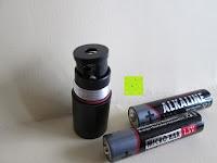 Aufsatz: ANSMANN 1600-0067 Agent LED Profi-Penlight handliche Stiftleuchte Taschenlampe