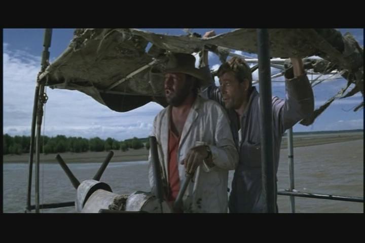 Philippe Noiret - Peter O'Toole in Murphy's War