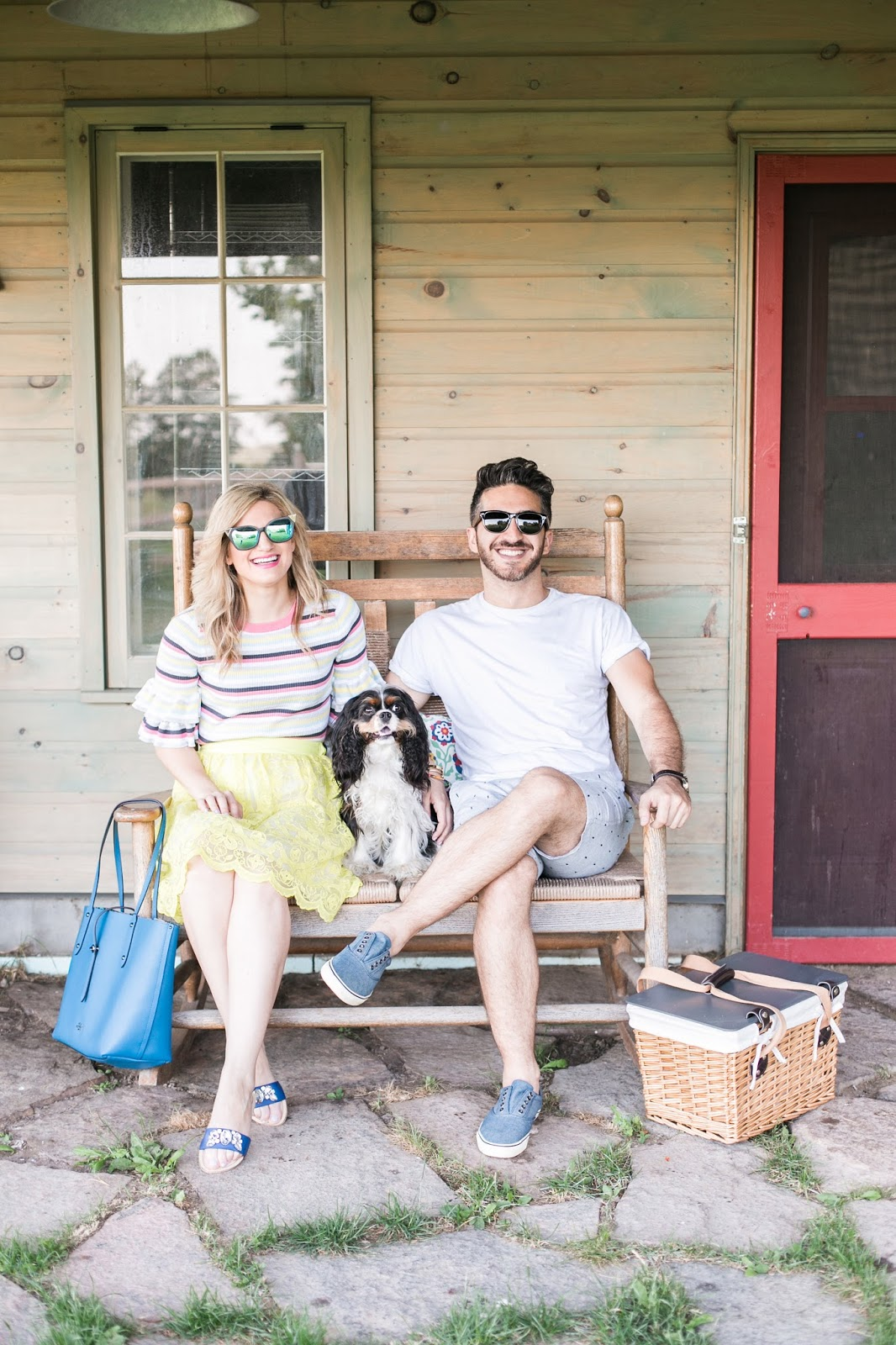 Bijuleni - Couples casual #ootd for a picnic