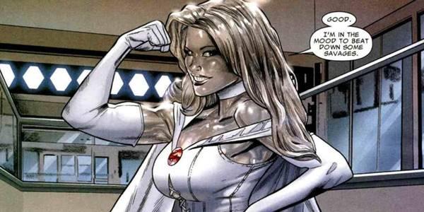 Emma Frost mutant wanita terbaik
