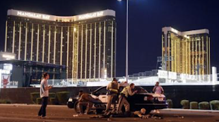 Las Vegas gunman shot security guard a full six minutes before opening fire on concertgoers, police reveal
