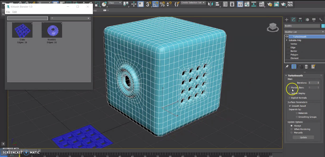 Kitbash Blender for 3ds Max - Plugins Reviews and Download free for