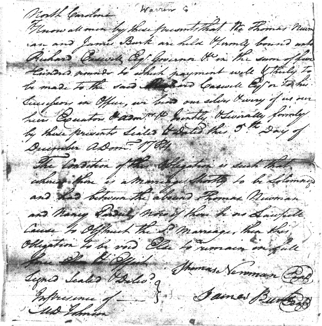 The PARDUE FAMILY of COLONIAL VIRGINIA and NORTH CAROLINA