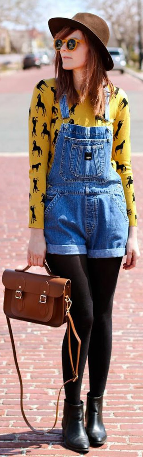 casual overalls outfit