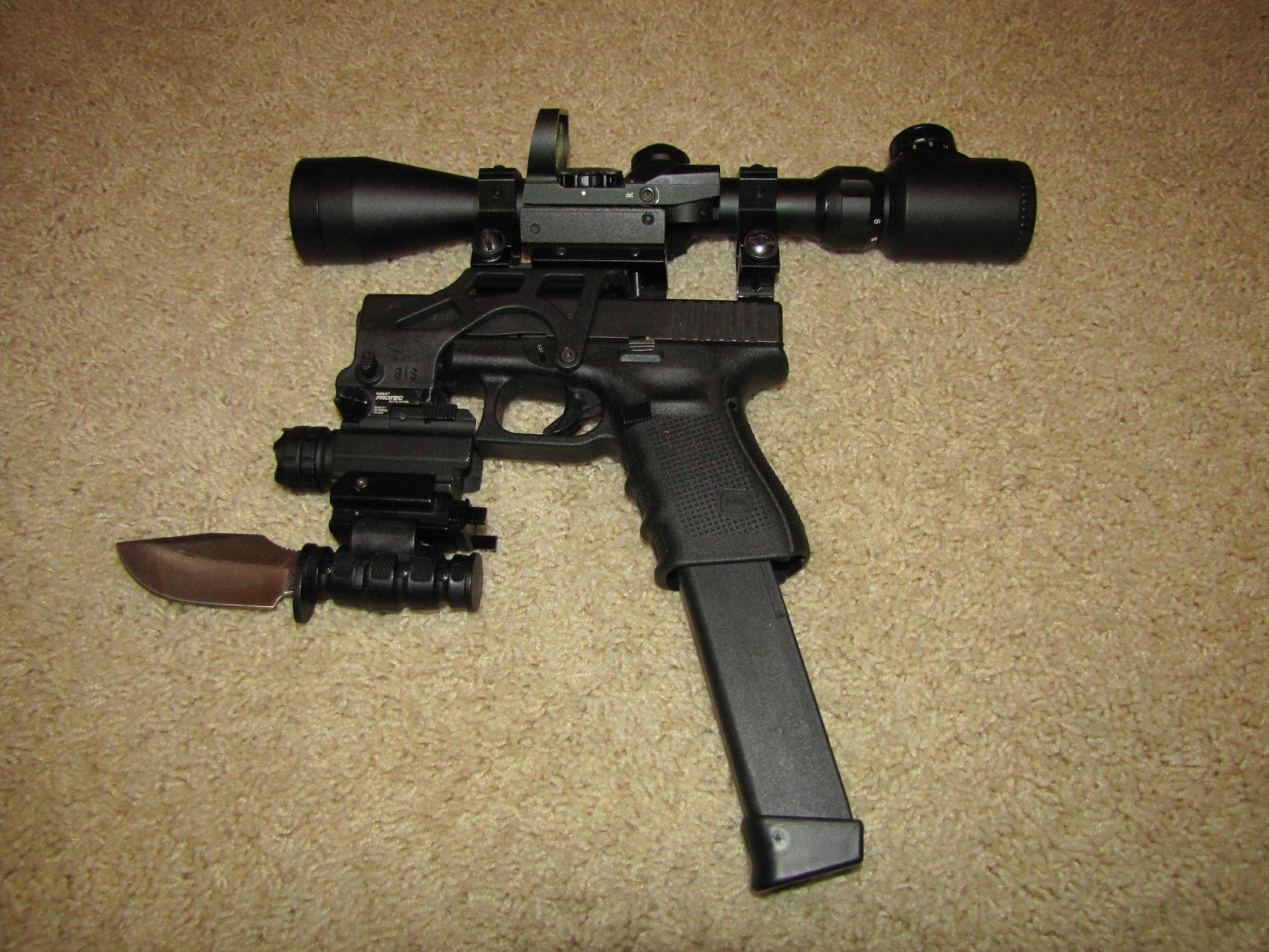 Snafu Never Use Gun Mods For Self Defense Duty Ey